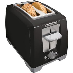 2 SLICE COOL TOUCH TOASTER BLK