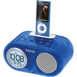 DUAL ALARM CLOCK FOR IPOD