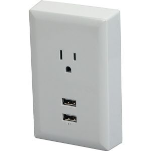 USB WALL PLATE CHARGER