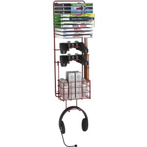 WALL MOUNT GAME RACK