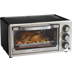 6 SLICE TOASTER OVEN BROILER