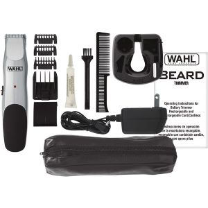 BEARD TRIMMER CHROME FINISH W/