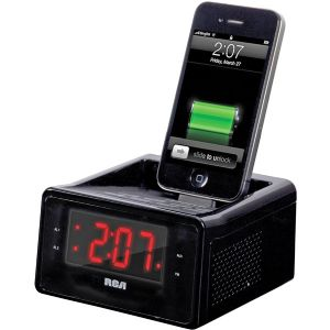 CLOCK RADIO APPLE PIN