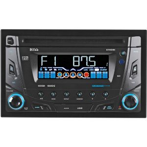 DOUBLE-DIN IN-DASH CD AM/FM RECEIVER WIT