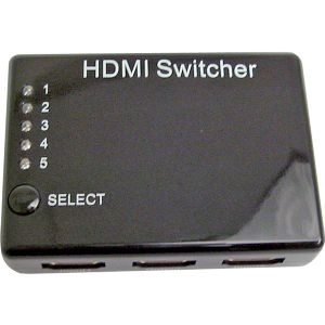 5 X 1 3D HDMI SWITCHER WITH