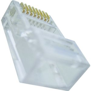 RJ45 PLUG W/ 50 MICRONS GOLD