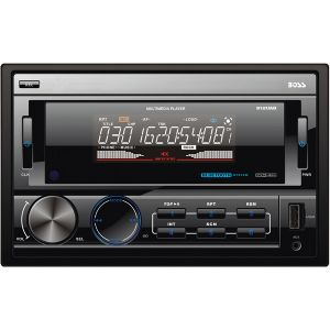 DOUBLE-DIN IN-DASH MECHLESS AM/FM RECEIV
