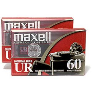 MAXELL 60 MIN NORMAL