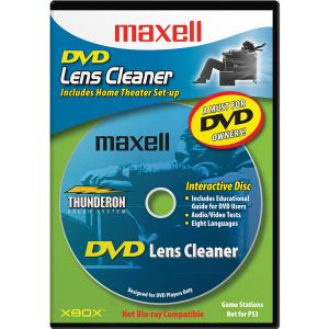 MAXELL DVD LASER LENS CLEANER
