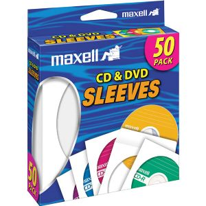 MAXELL CD/DVD SLEEVES