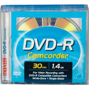 MAXELL  DVD-R CAMCORDER