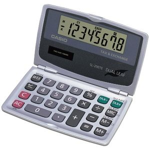 CASIO TAX/CUR EXCHANGE