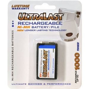 ULTRALAST160MAH 9V NIMH