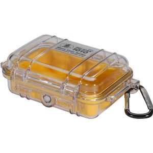 1010 MICRO CASE YELLOW CLEAR