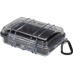 1020 MICRO CASE BLK W/CLEAR LID