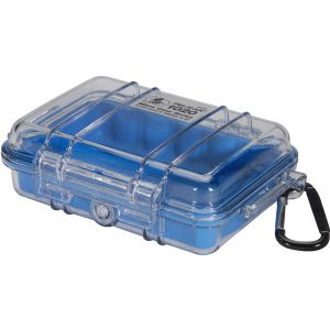 1020 MICRO CASE BLUE W/CLEAR