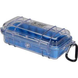 1030 MICRO CASE BLUE CLEAR LID