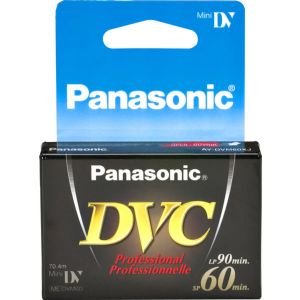 PANASONIC DVM-60XJ1 60 MINUTE