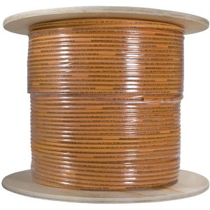 1000FT CAT5E ORANGE TELECOM/
