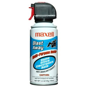 MAXELL BLAST AWAY CANNED AIR