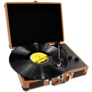 Pyle PVTT2U Retro Belt-Drive Turntable W