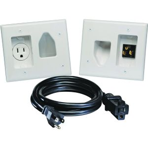 RECESSED PRO-POWER KIT WITH STRAIGHT BLA