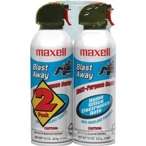 Maxell Blast Away CA4 Canned Air Duster