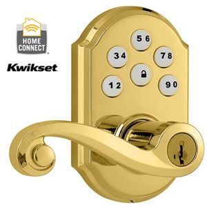 Kwikset Z-Wave Electronic Door Lock- Keyless Entry