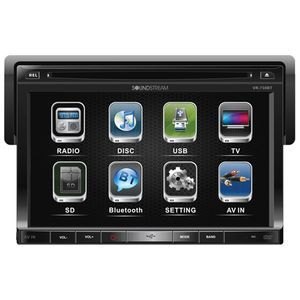 "SOUNDSTREAM SINGLE DIN 7"" MULTIMEDIA BT - VR730B"