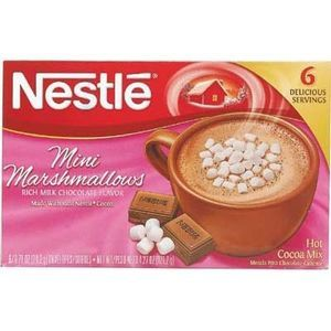 Nestle Hot Cocoa Marsh 6Pk (Pack of 12)