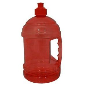 Red Plastic 63 Ounce H2O Jug (Pack of 9)