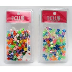 Hair Beads  Star  (Pack of 48)