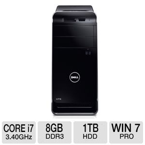 DELL XPS 8700 Core i7 1TB HDD 8GB DDR3 Desktop PC