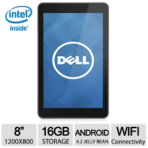 DELL Venue 8 16GB Android 4.2 Jelly Bean Tablet