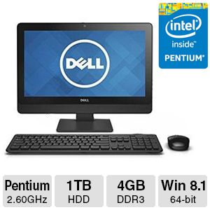 Dell Inspiron Intel Pentium G3220T All-In-One PC
