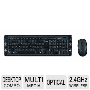 iHome Wireless Keyboard & Op. Mouse - IH-K220C