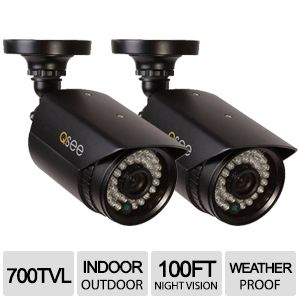 Q-see 960H Weatherproof 2-Pack Security Camera
