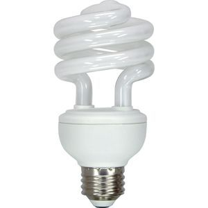 GE CFL 20w S-White 1250lm Spiral Bulb, 1 pack