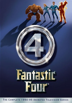 FANTASTIC FOUR - DVD Movie