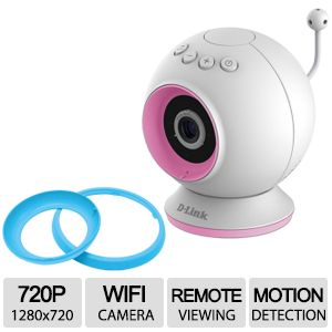 DLink DCS-825L 720p HD WiFi Baby Monitor