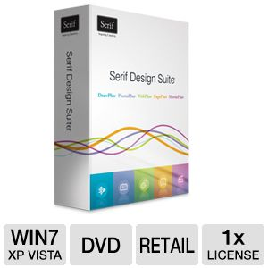 Serif Design Suite Software 