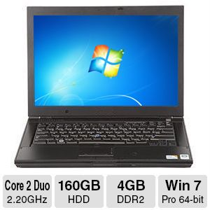 Dell Latitude Notebook - Core 2 Duo, 4GB, 14.1""