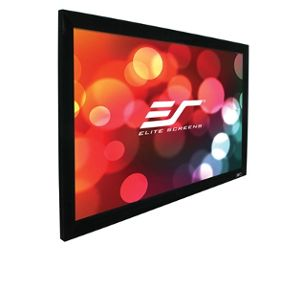 "Elite Screens 106"" Projection Screen- R106WH1"