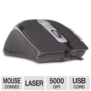 Rude Gameware Fierce Laser Gaming Mouse V.2