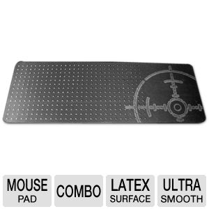 Cyber Snipa Mouse and Keyboard Mat