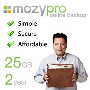 EMC Mozy Pro Online Back-Up Service