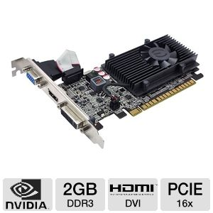 EVGA GeForce GT 520 2GB DDR3 LP Video Card