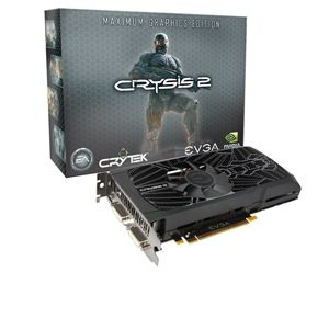 EVGA GTX 560 Ti Max Graphics SC Ed 1GB w/Crysis 2
