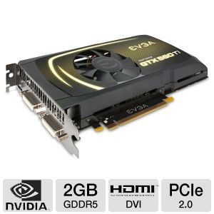 EVGA GeForce GTX 560 Ti 2GB GDDR5 PCIe Video Card