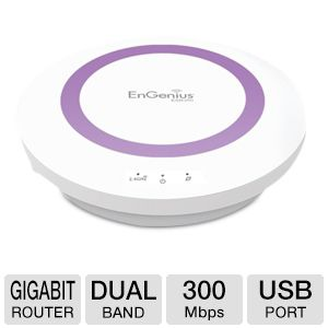 EnGenius Xtra Range Dual Band N300 Gigabit Router